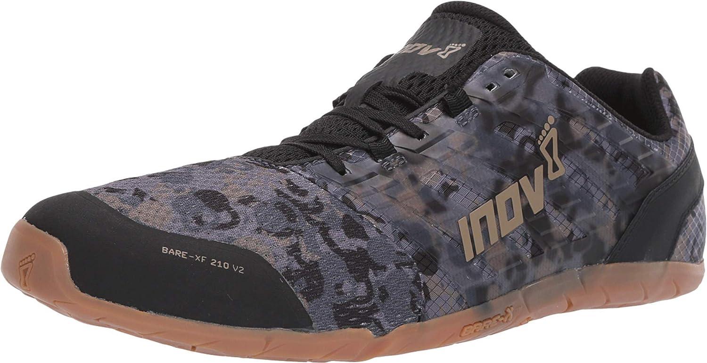 Buy Inov 8 Bare Xf 210 V2 Barefoot Minimalist Shoes Zero Drop Versatile Everyday Grey Gum 12 5 M Us At Amazon In