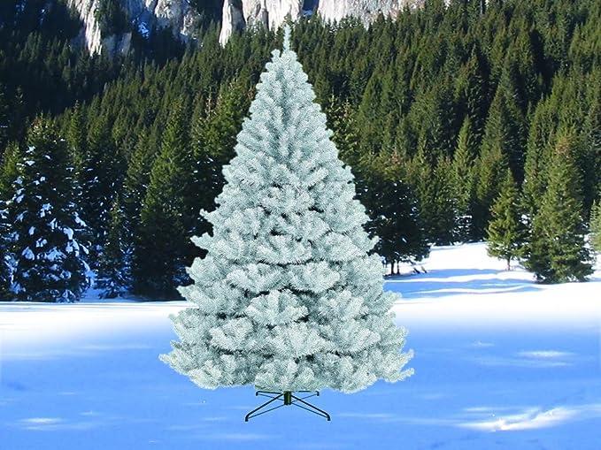 Albero Di Natale Bianco.Albero Di Natale Bianco 180 Cm Amazon It Giardino E Giardinaggio