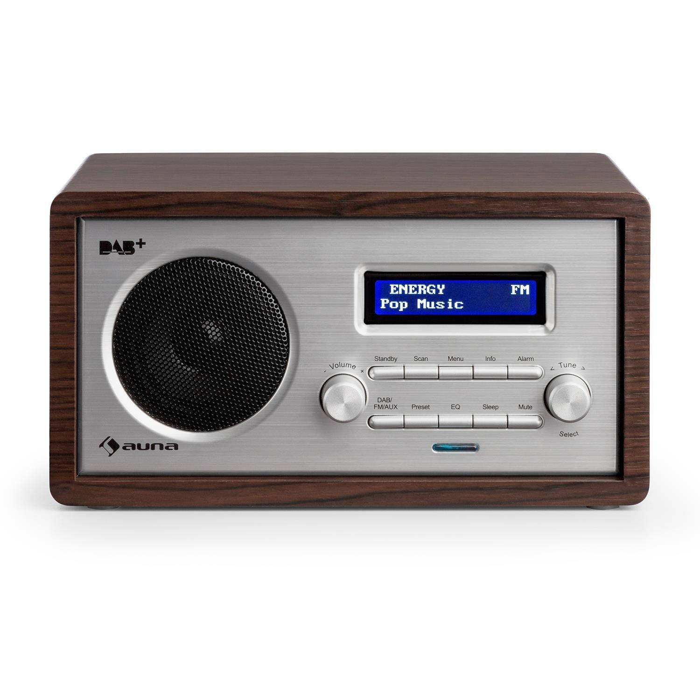 auna Harmonica Dab+ FM • Radio Digital con RDS • Memoria integrada • Display LCD •