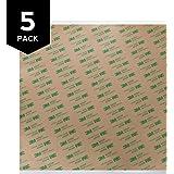 "Gizmo Dorks 3M 468MP Adhesive Transfer Tape Sheets 12"" x 12"" (5-Pack)"