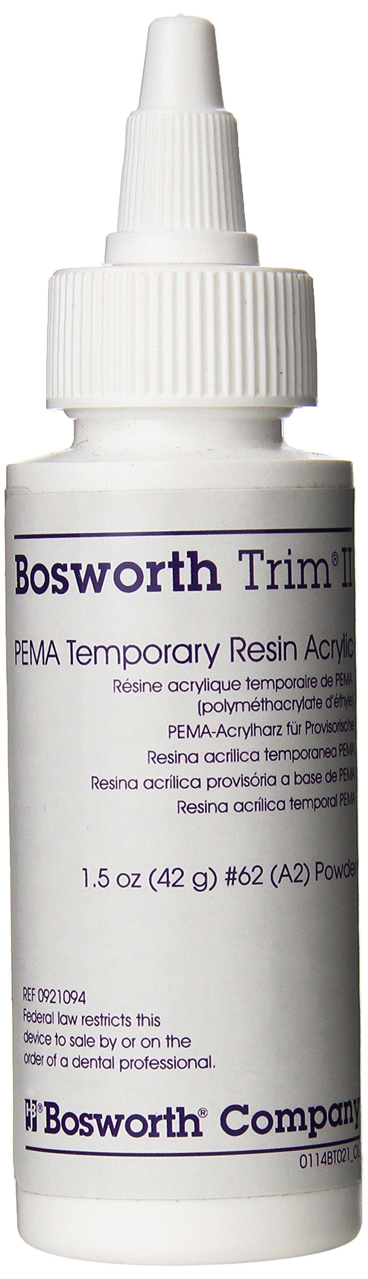 Bosworth 0921094 Trim II Powder, Shade A2, 1.5 oz Capacity
