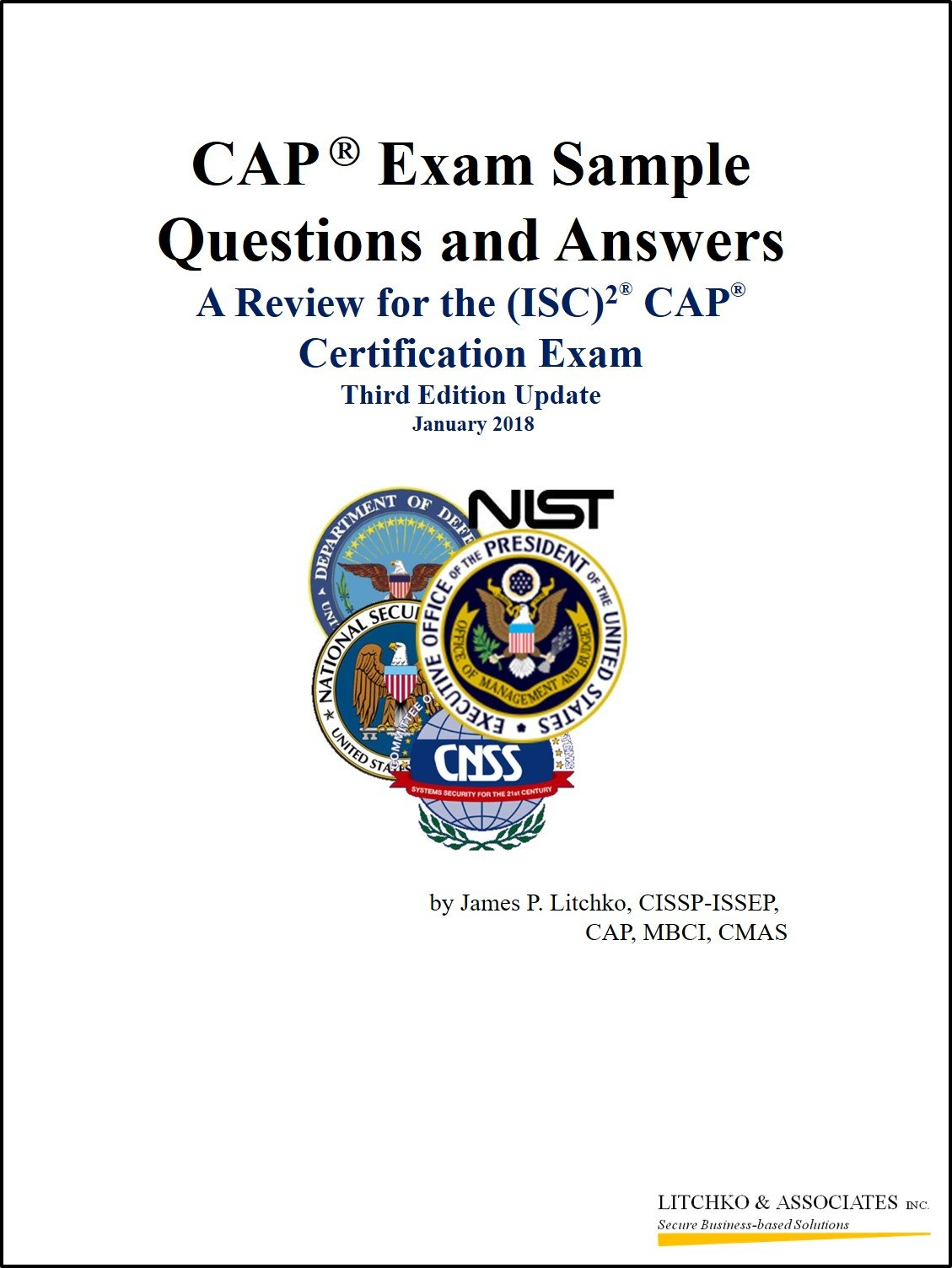 863882f326c CAP Exam Sample Questions and Answers  Review for the (ISC)2 CAP  Certification Exam Spiral-bound – 2018
