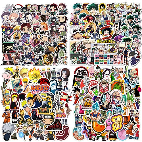 🥇 200PCS Anime Mixed Stickers