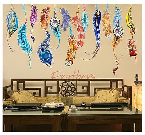 Amazon.com: SUSU wallpaper Background wall stickers living room wall ...