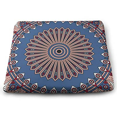 Sanghing Customized Colorful Ethnic Arabesque Vector Ornament 1.18 X 15 X 13.7 in Cushion, Suitable for Home Office Dining Chair Cushion, Indoor and Outdoor Cushion.: Home & Kitchen