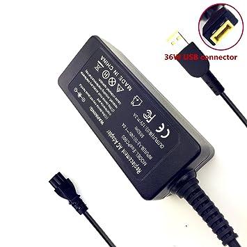 SXT 12 V 3 A 36 W Cargador USB adaptador de CA para Lenovo ...