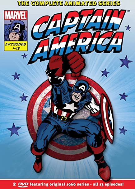 Amazon com: Captain America: The Complete 1966 Series: Movies & TV