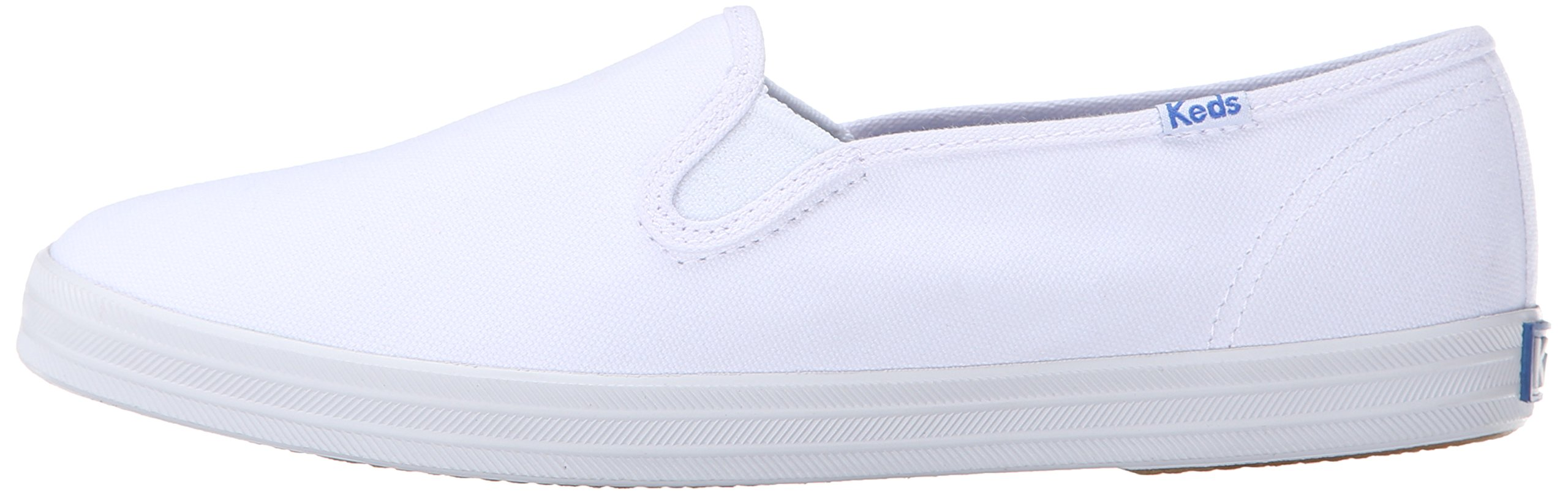 c9a51f044dc13 Keds Champion Slip On Women 9.5 White - WF23240   Fashion Sneakers    Clothing