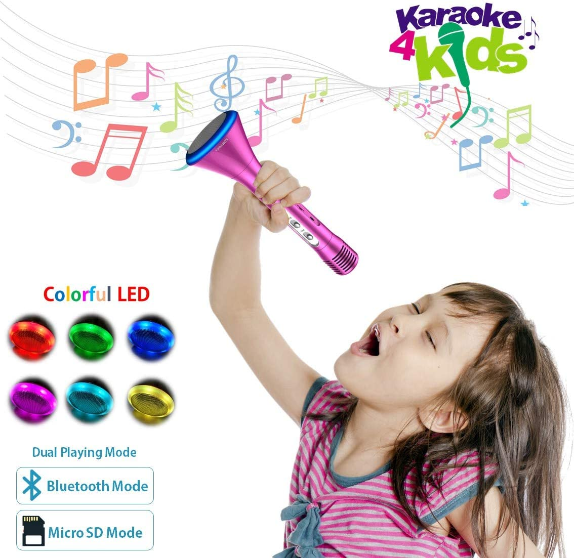 Komvox Karaoke Microphone For Kids