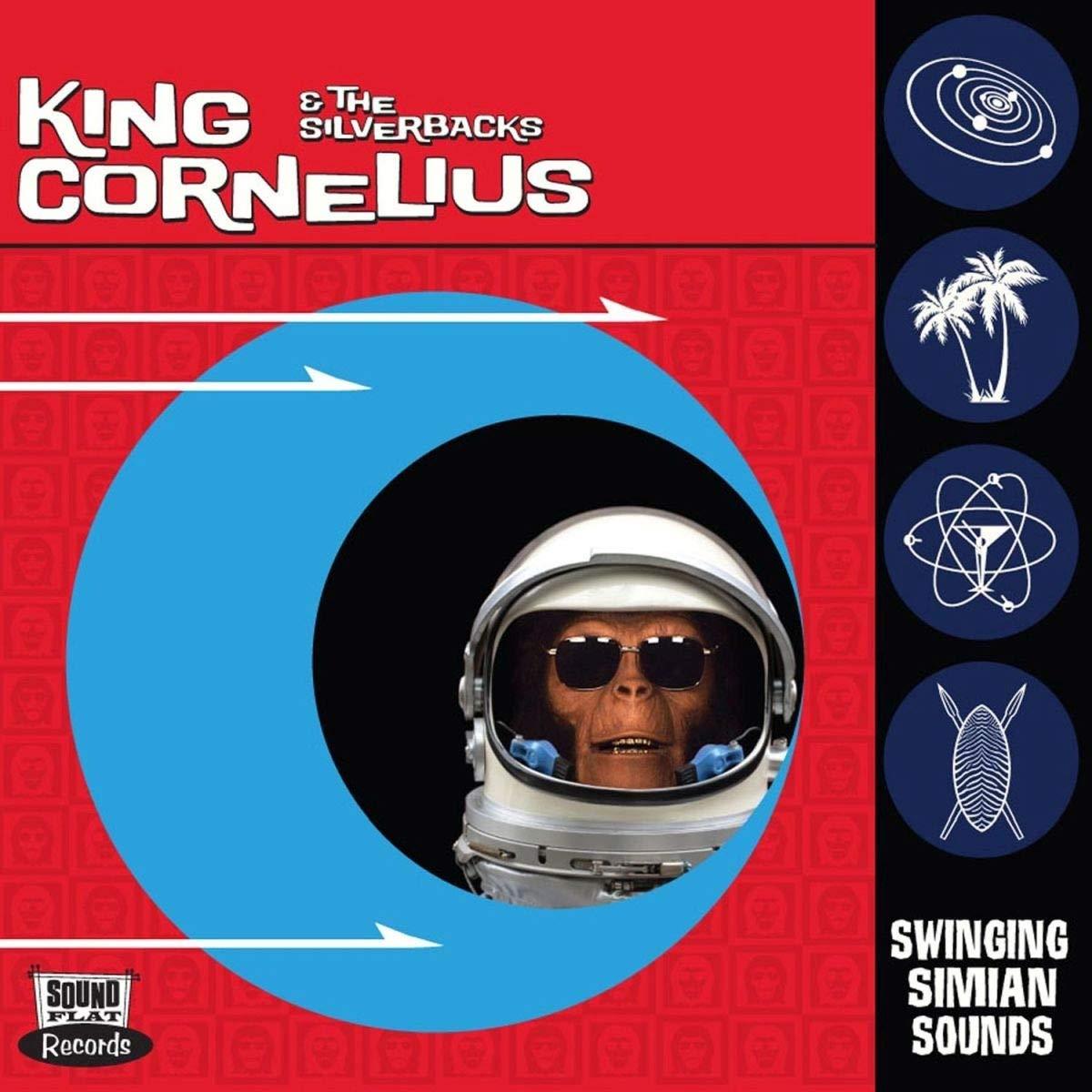Vinilo : King Cornelius & Silverbacks - Swinging Simian Sounds (LP Vinyl)