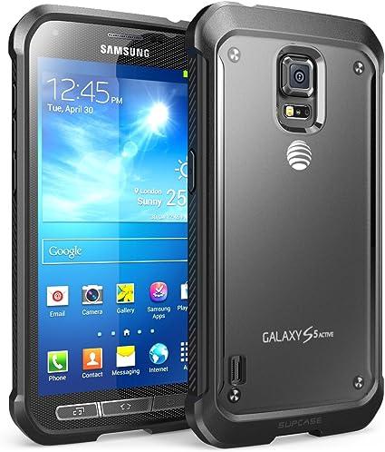 Supcase Coque Samsung Galaxy S5 Active (pour SM-G870 A l'eau et résistant aux chocs Version Smartphone) – Unicorn Beetle Premium Hybrid Coque de ...