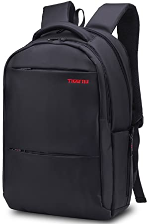9f94f715919b Tigernu Unisex Slim Waterproof Laptop Backpack (Black)  Amazon.ca ...
