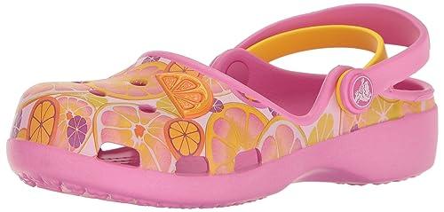 Crocs Sandales Karin Enfant Party Pink iMr7XeY