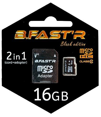 B.Fast R msd4 kit1xx - 16-C Tarjeta de Memoria Micro-SD 16 ...