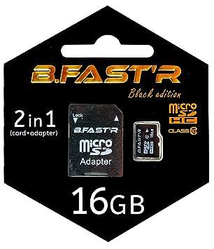 R-B, Fast MSD10 KIT1XX - 16 K Micro-SD-Tarjeta de Memoria ...