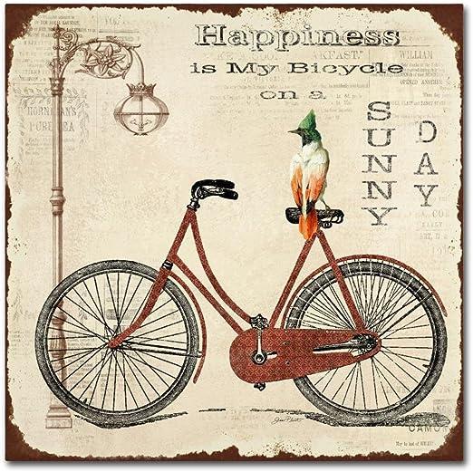 Trademark Marca Fine Art Bicicleta 2: Amazon.es: Hogar