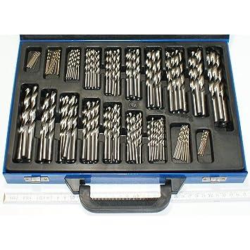 Berühmt 170 Stück Stahlbohrer HSS von 1 bis 10 mm Durchmesser um 0,5 @IL_78