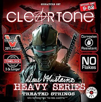 Cleartone Dave Mustaine firma Studio juego de cuerdas para guitarra ...