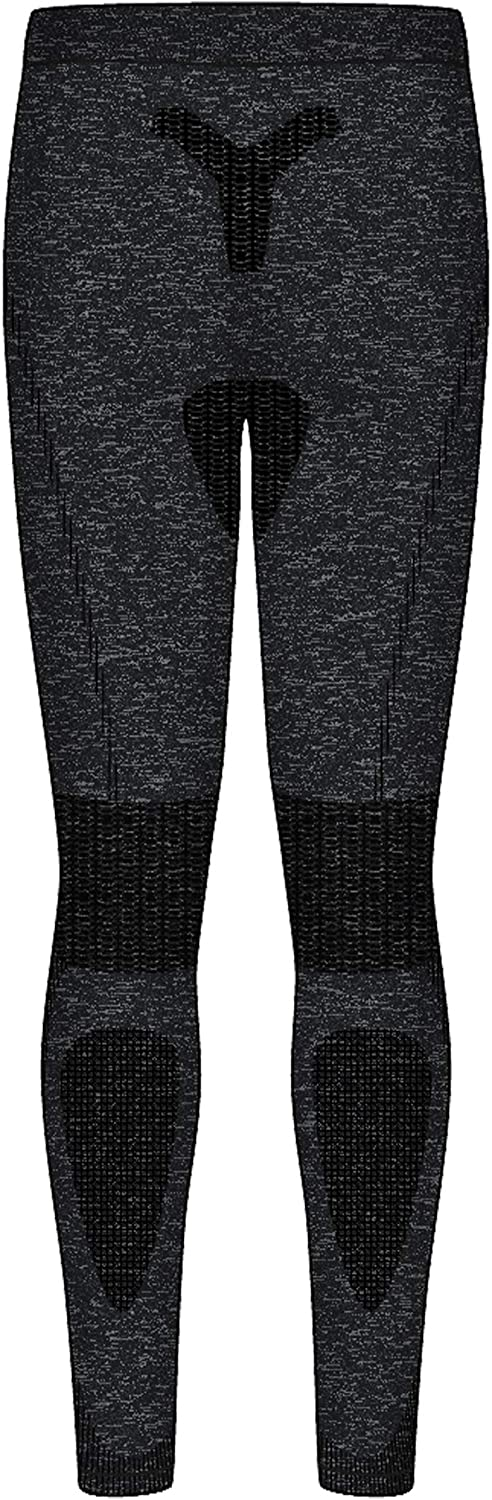 COOLOMG Boys/&Girls Thermal Pants Baselayer Leggings Warm Tights Fleece-Lined Compression Pants Kids Youth