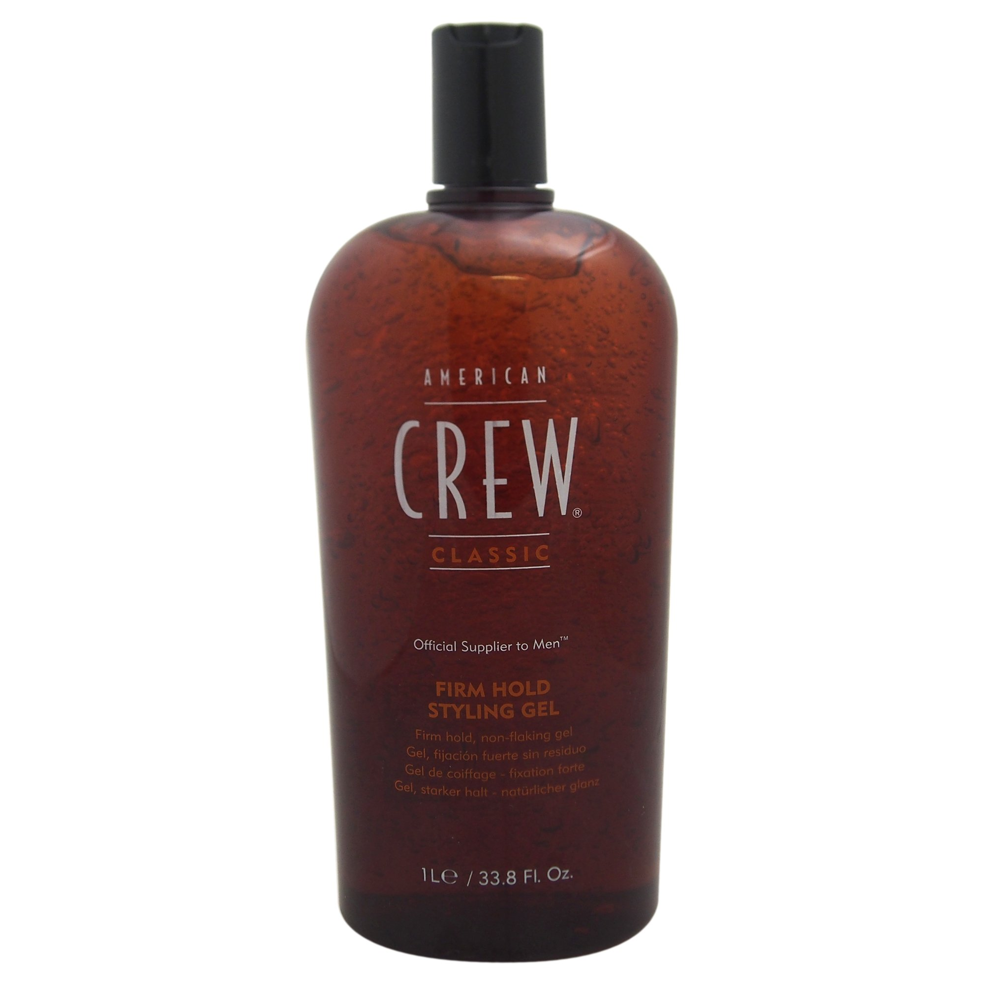 American Crew Firm Hold Styling Gel, 33.8-Ounce Bottle by AMERICAN CREW