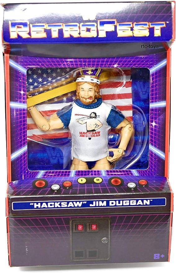 WWE Mattel Elite dans Hacksaw Jim Duggan Shirt