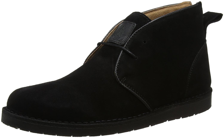 Hush Puppies Herren Barricane Heritage Chukka Boots Schwarz (Black)