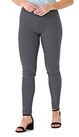 77acebc2be1a2 INTRO. Tummy Control High Waist Legging Pull-On Cotton \ Spandx ...