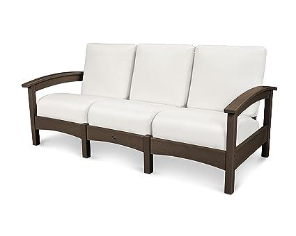 Amazon.com : POLYWOOD TXC71VL-5472 Deep Seating Sofa ...