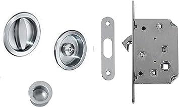 scorri Kit 1b Kit para puertas correderas – Tope redondo con cerradura B
