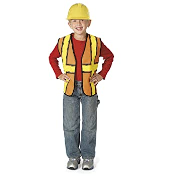 amazon com fun express construction worker vest 17 x 20 non