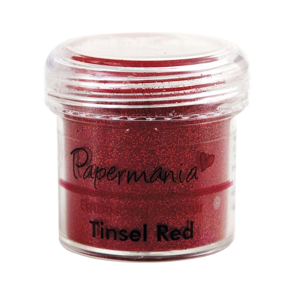 Docrafts 1 oz Embossing Powder, Tinsel Rosso PMA 4021013