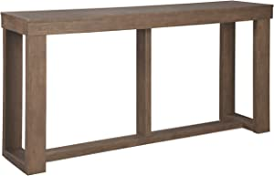 Signature Design by Ashley - Cariton Modern Wooden Sofa Table, Brown