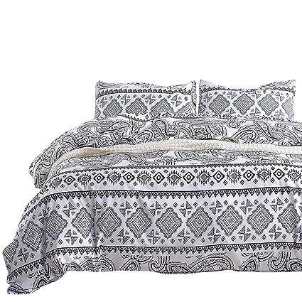 Amazon Com Couturebridal Boho Tribal Bedding Duvet Cover Set Full