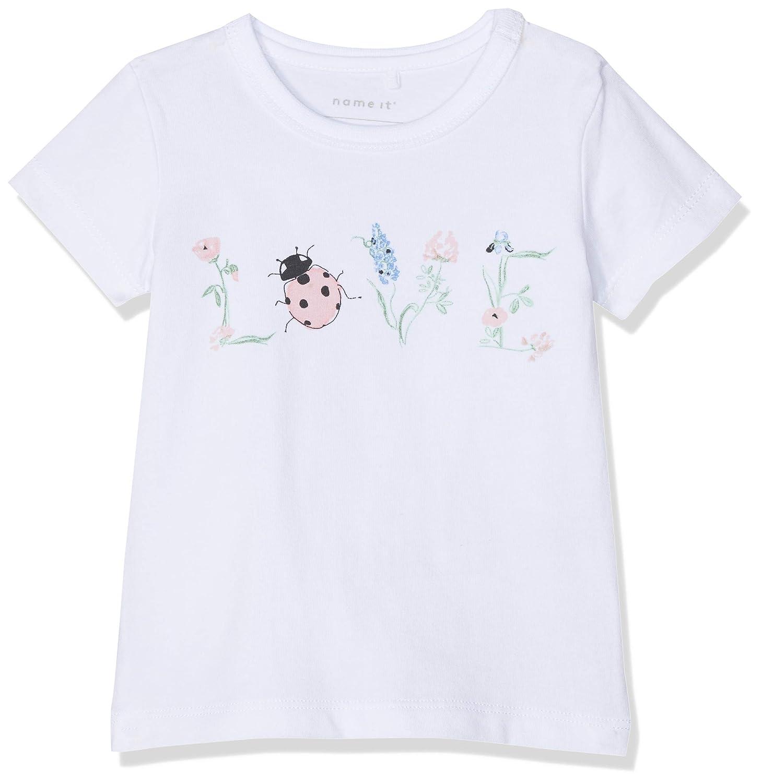 NAME IT Baby-M/ädchen Nbfhappa Ss Top Box T-Shirt
