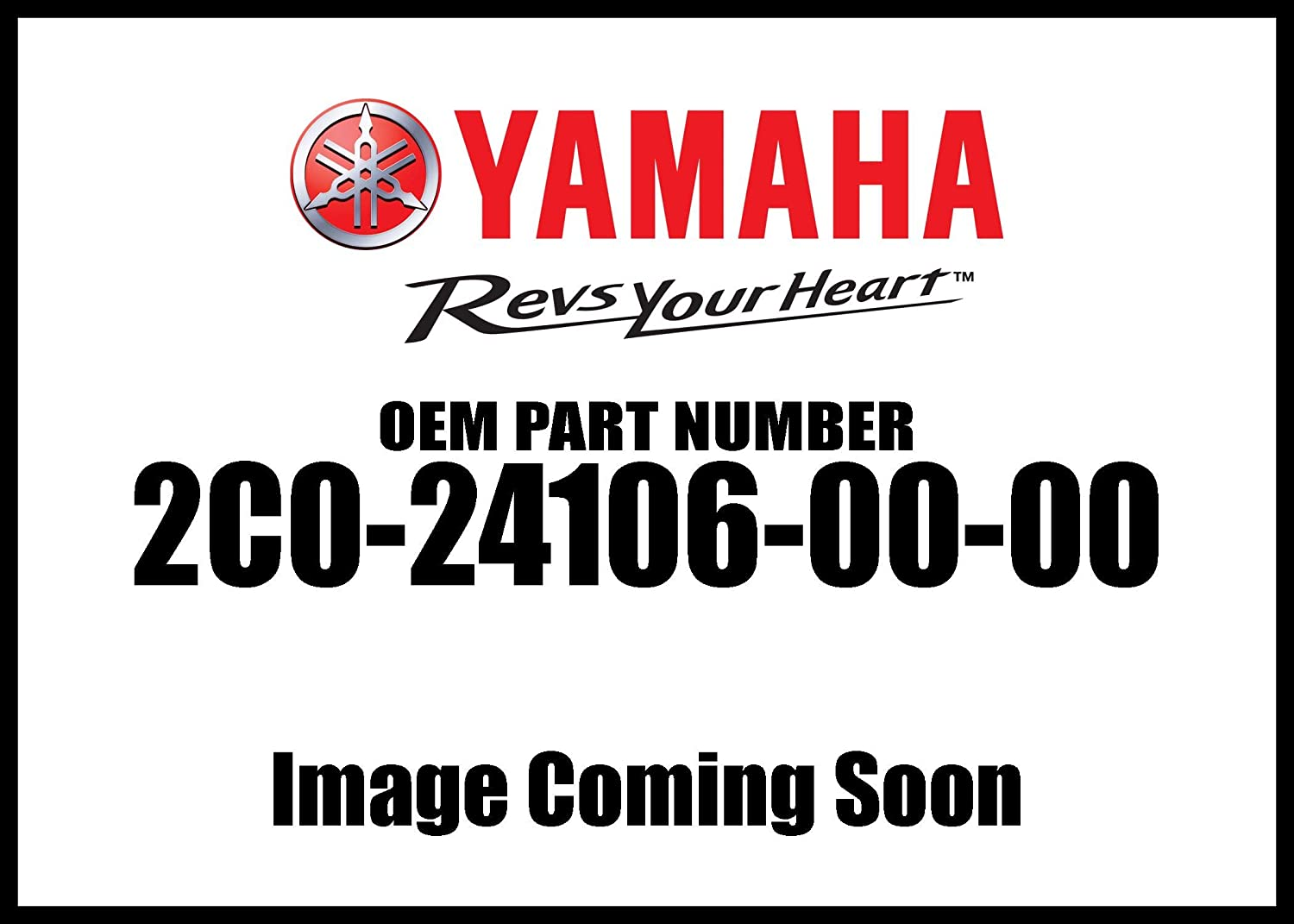 Yamaha 2C0241060000 Tank Side Cover Assembly