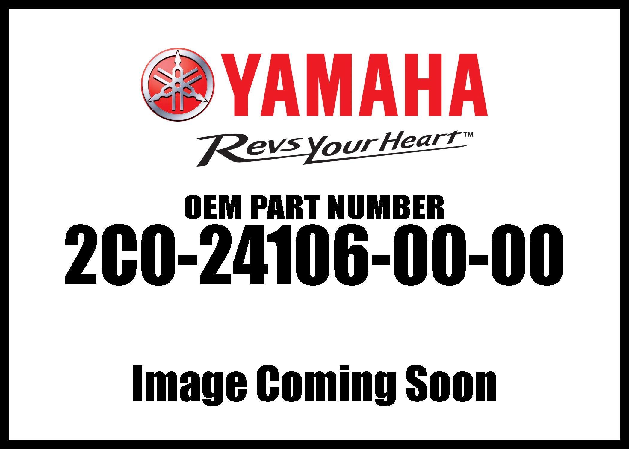 Yamaha 2C0241060000 Tank Side Cover Assembly