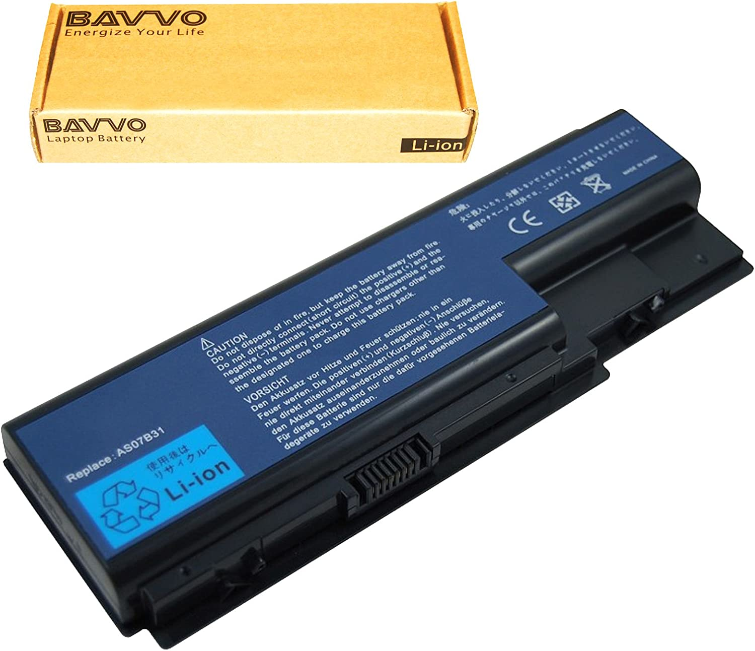 Bavvo 8-Cell Battery Compatible with ACER Aspire 6930-6455