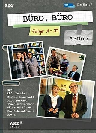 Buro Buro Staffel 1 6 Dvds Amazon De Elfi Eschke Iris Berben