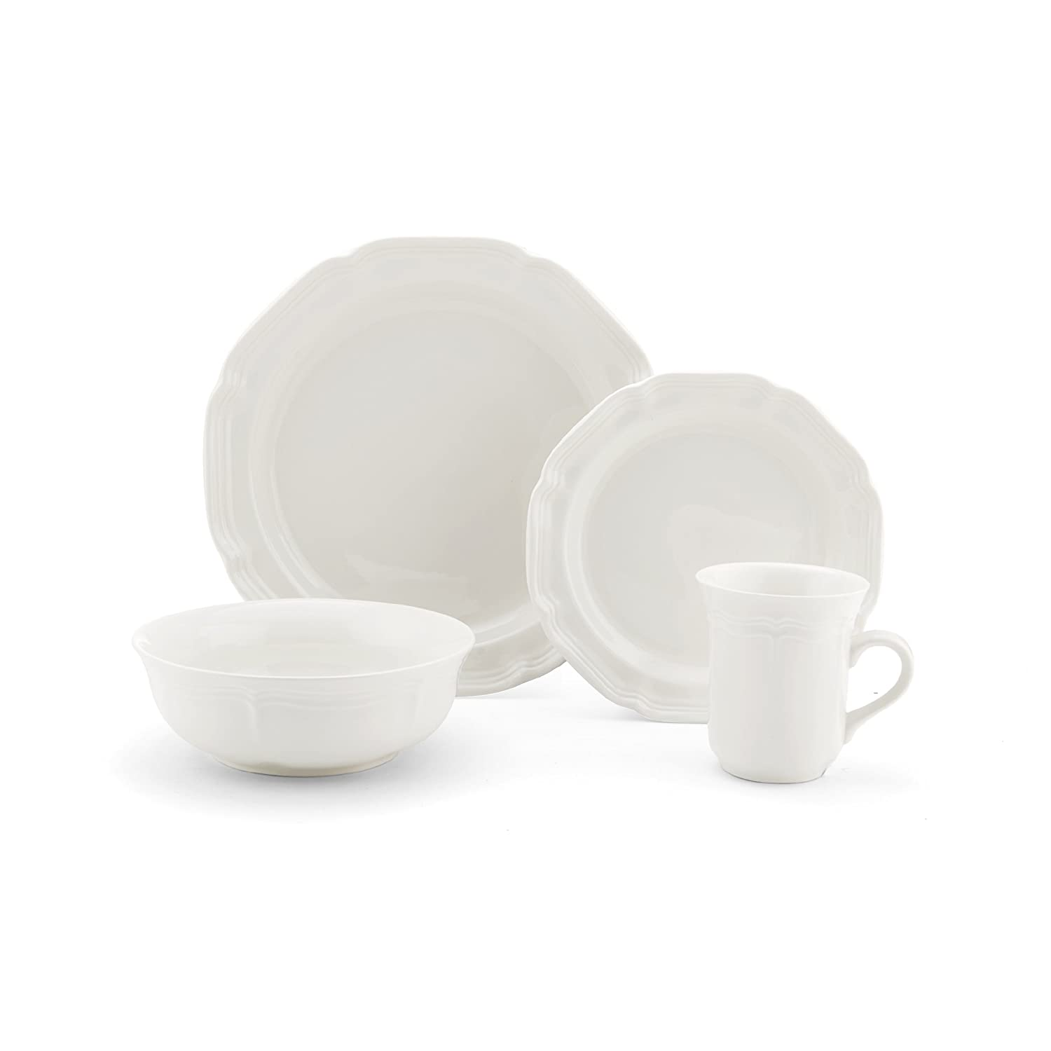 Mikasa French Countryside 16-Piece Dinnerware Set, Service for 4 5160780