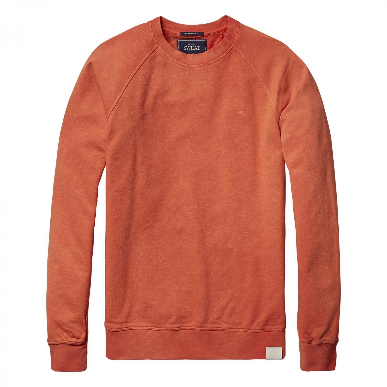 Scotch & Soda Herren Pullover Garment dyed Crewneck Sweat 101553