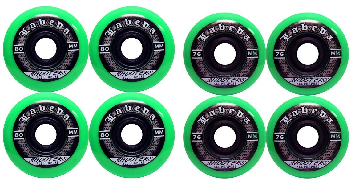 LABEDA WHEELS Inline Roller Hockey SHOOTER 76/80 HiLo by Labeda