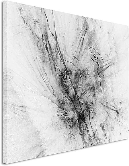 Leinwandbild Kunst-Druck 140x70 Bilder Sonstige Schwarz-Weiß-Linien