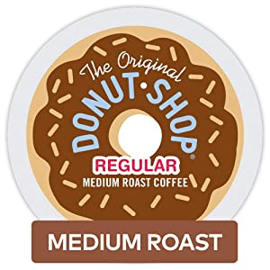The Original Donut Shop Keurig Single-Serve K-Cup Pods, Medium Roast Coffee, 32 Count