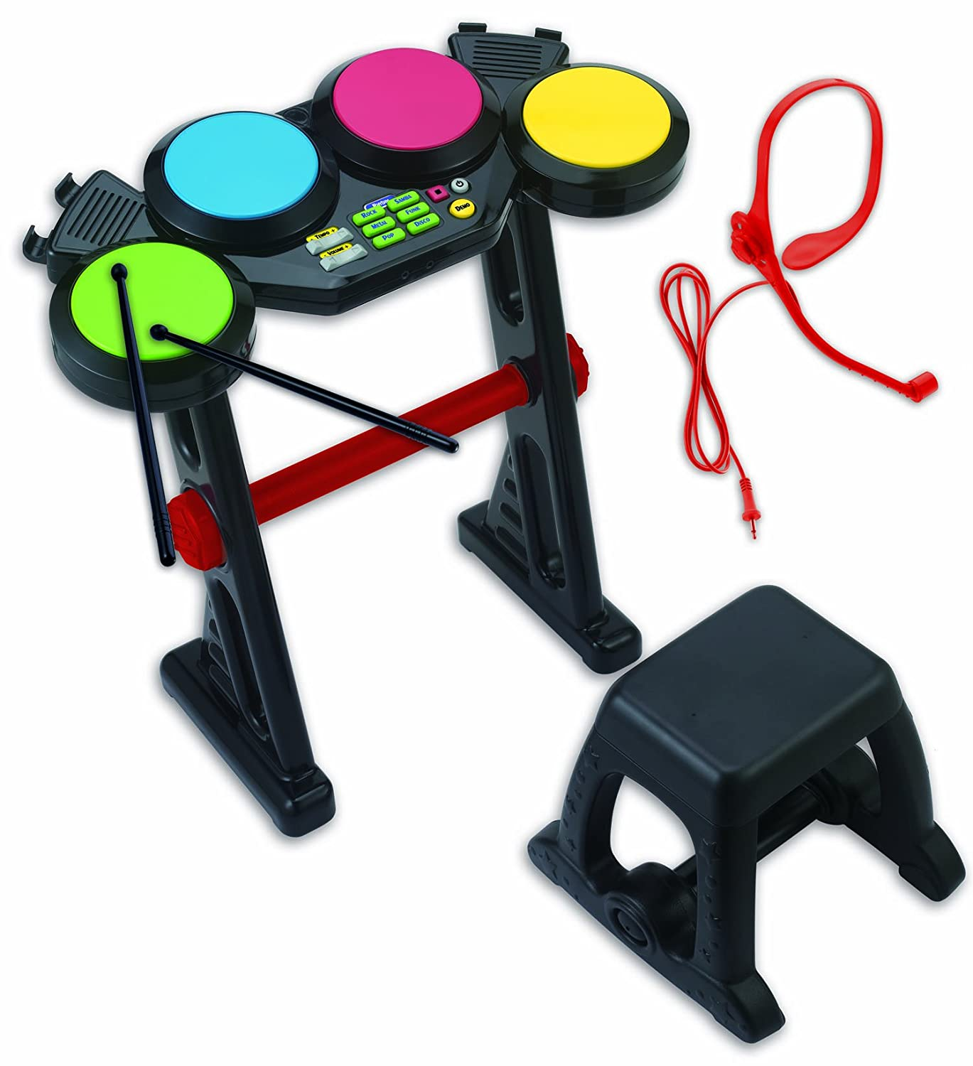 Winfun Kids Fun Electronic Drum Set Winfun USA - Toys 2076-NL