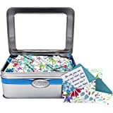 Tin KindNotes FRIENDSHIP Keepsake Gift Box of Messages for Him or Her Birthday, Friendship Day, Just Because - Fresh Cut Floral
