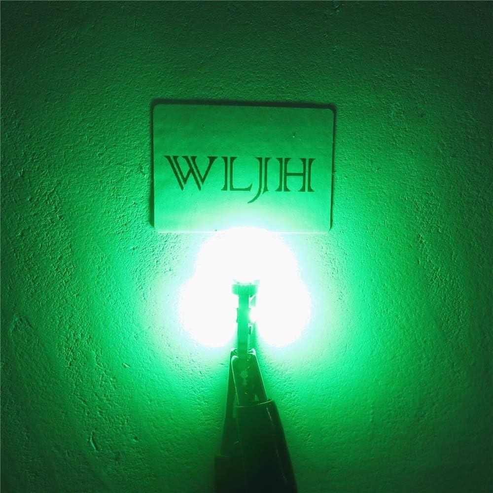 WLJH 74 Lampadine T5 2721 37 286 PC74 Pannello strumenti Indicatori luminosi Cluster Indicatore di spostamento Ambra 20pz