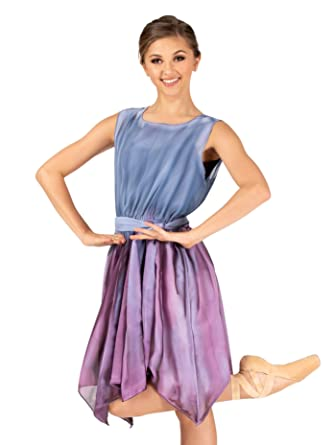 8d534271e960 Amazon.com: Adult Hand Painted V-Back Overdress with Sash WC211: Clothing