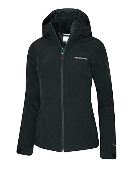 Columbia Womens Alpine Fir Windproof Fleece Lined Softshell Hooded Jacket