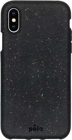 Pela Hülle Für Das Iphone Xs 100 Kompostierbar Biologisch Abbaubar Aus Pflanzen Hergestellt Abfallfrei Black Elektronik