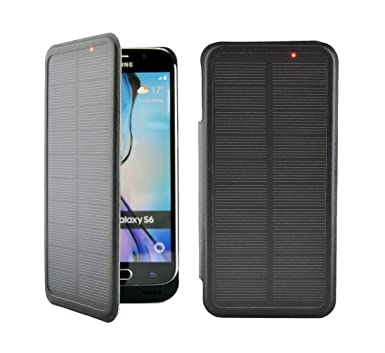 d0d1a8a4e Image Unavailable. Image not available for. Colour: Samsung Galaxy S6 SOLAR  Battery Case 4200mAh Flip Cover Skin High Capacity External Charger Note  Power